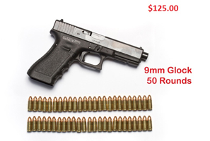$125 - Glock 9mm Semi-Auto